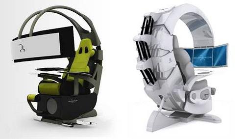 Chaise gamer sige et fauteuil gamer pour bureau de joueur pc